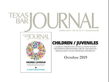 Texas Bar Journal Cover