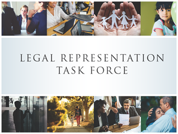legal representation task force cover